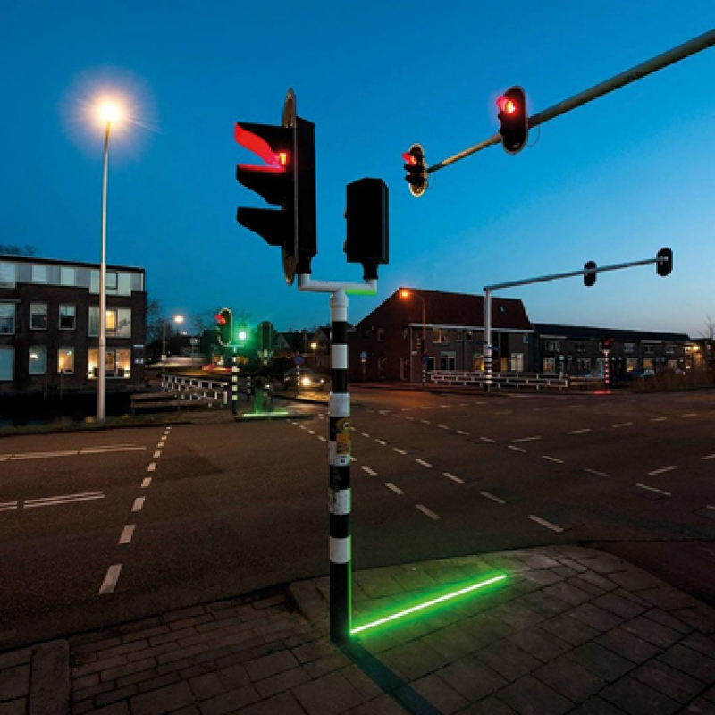 Led Lightline traffic safety